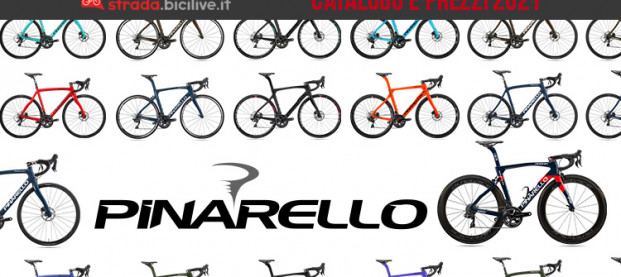 Le bici da corsa, gravel e cross 2021 di Pinarello: catalogo e listino prezzi