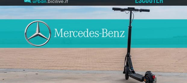 eScooter: il primo monopattino elettrico di Mercedes-Benz
