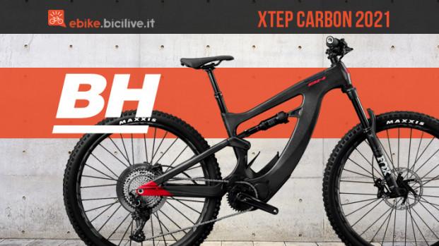 BH Xtep Carbon 2021, una nuova eMTB con motore Shimano EP8