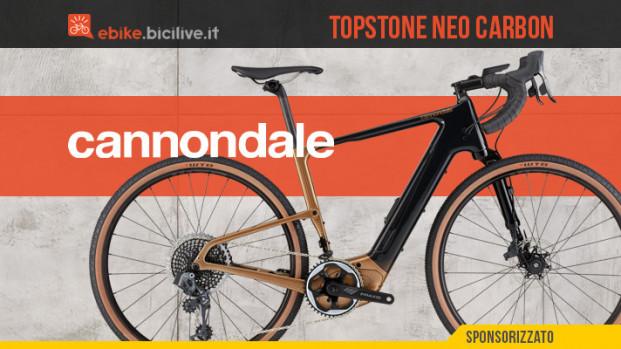 Topstone Neo Carbon 2021: la prima eGravel di Cannondale