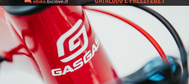 Le ebike GasGas 2021: catalogo e listino prezzi mtb elettriche