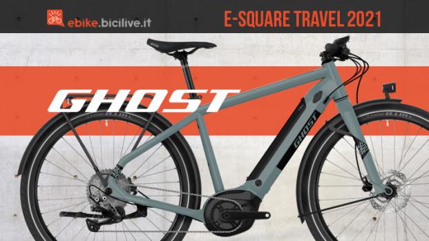 Ghost e-Square Travel: una eUrban per pendolari