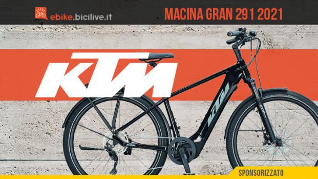 KTM Macina Gran 291: e-urban senza compromessi per città e viaggi