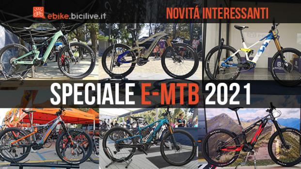 Speciale: le nuove mountain bike elettriche del 2021