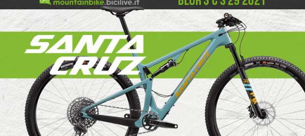 Santa Cruz Blur 3 C 29″ S 2021, la nuova XC marathon con carro VPP