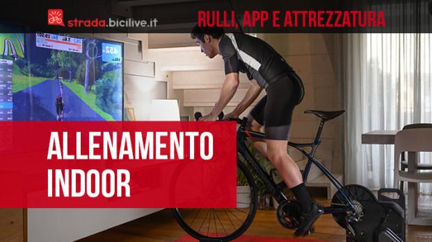 Guida ai rulli, applicazioni e attrezzatura per l'allenamento ciclismo indoor