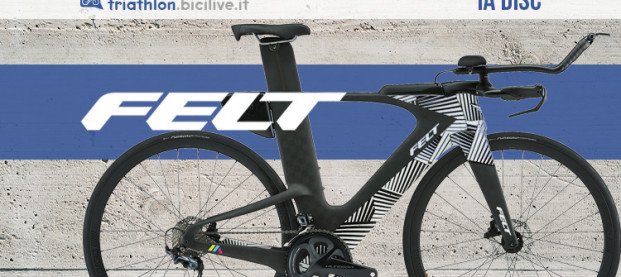 Felt IA Disc: una bici dall'aerodinamica esasperata