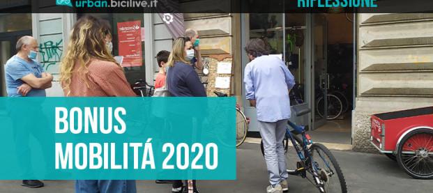 Bonus Mobilità 2020: un po' di confusione e un'occasione persa