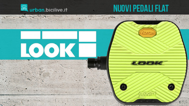 La nuova gamma di pedali flat di Look in collaborazione con Vibram