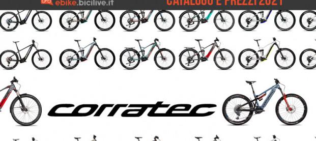 Il catalogo delle e-MTB Corratec 2021: modelli dall'XC al Freeride