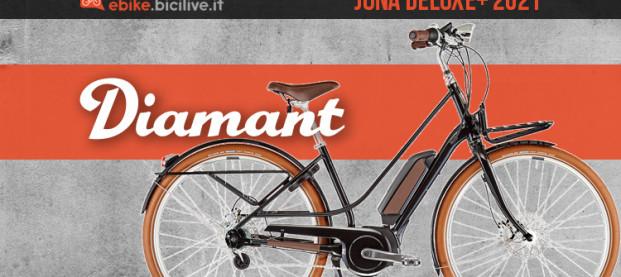 L'ebike urban Diamant Juna Deluxe+ 2021