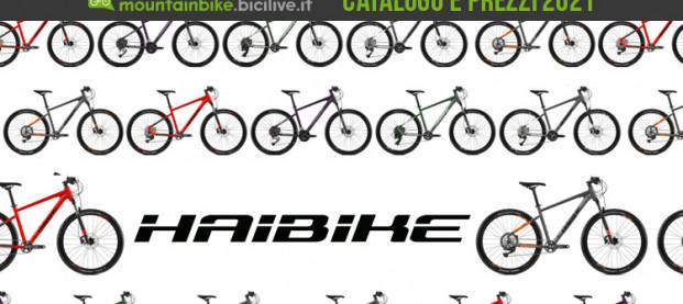 Il catalogo Haibike MTB Seet 2021: 5 front suspension versatili per chi inizia