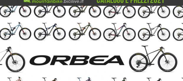 Il catalogo delle MTB Orbea 2021: 43 modelli dall'enduro all'XC ricreativo