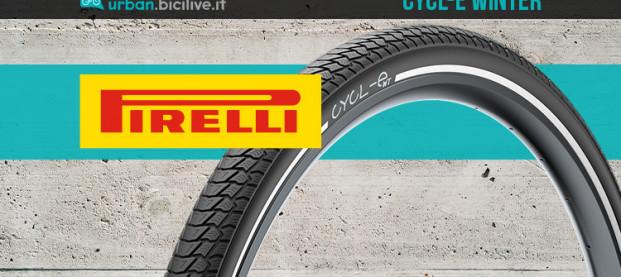 Pirelli CYCL-e Winter: studiato per affrontare l'inverno