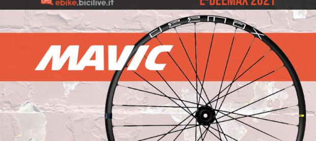 Mavic E-Deemax: le nuove ruote per eMTB