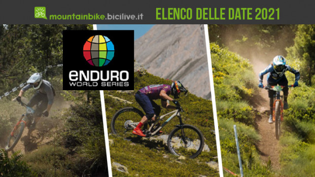 Enduro World Series 2021: in Italia tre tappe, ecco le date