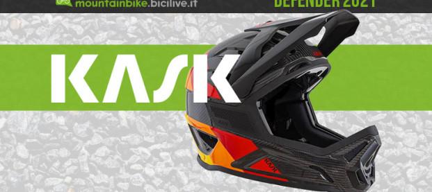 Kask Defender 2021: il casco full face in carbonio per il gravity