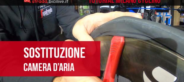 Tutorial con Milano Cycling: come sostituire copertoncino e camera d'aria