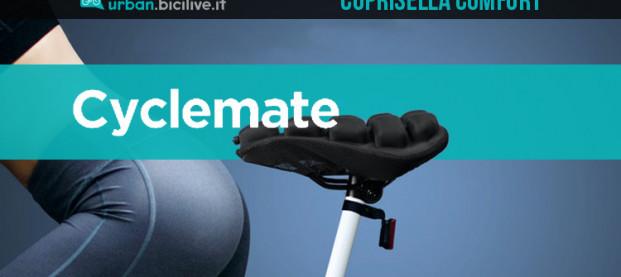 Cyclemate: un coprisella gonfiabile anti-dolori