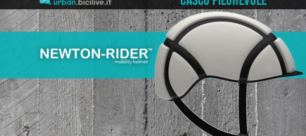 Il casco da bici Newton-Rider: compatto, hi-tech e pieghevole
