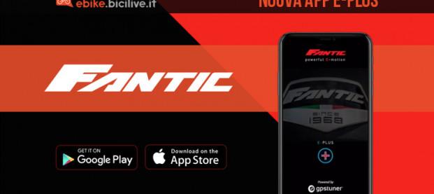 Fantic E-Plus è l'App per gestire al meglio le ebike Fantic