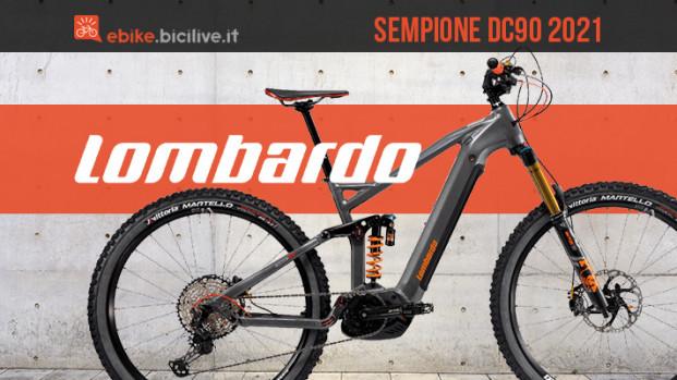 Lombardo Sempione DC90: una eMTB italiana da enduro
