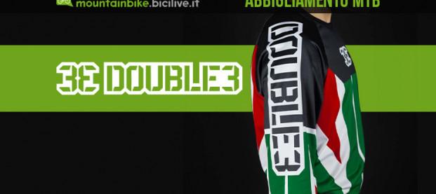 DOUBLE3 2021: abbigliamento etico MTB made in Italy