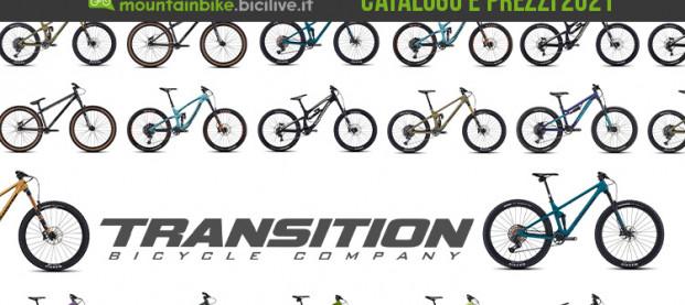 Il catalogo Transition Bikes 2021: 19 MTB per enduro e all mountain