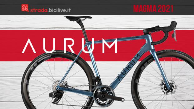 Aurum Magma 2021: la nuova bici creata da Contador e Basso