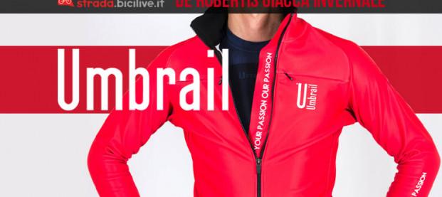 Umbrail De Rubertis: l'innovativa giacca invernale per non smettere mai di pedalare