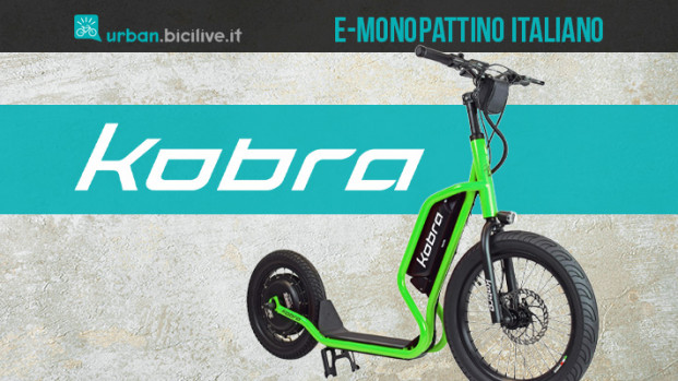 Kobra: il nuovo monopattino elettrico italiano