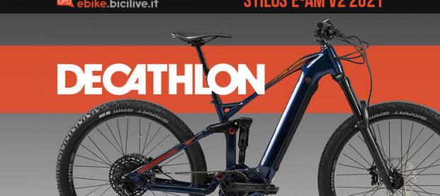 Stilus E-AM V2, la nuova eMTB all-mountain 2021 di Decathlon
