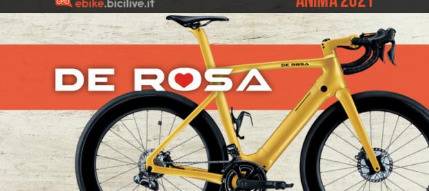 De Rosa Anima: l'ebike è ora anche in colorazione Fashion Gold