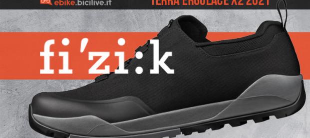 Fizik Terra Ergolace X2 E-Bike: le scarpe flat nate per l'ebike