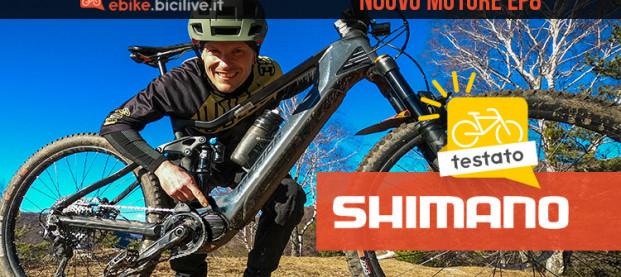 Test motore Shimano EP8 2021: 85 Nm di coppia e grande personalizzazione