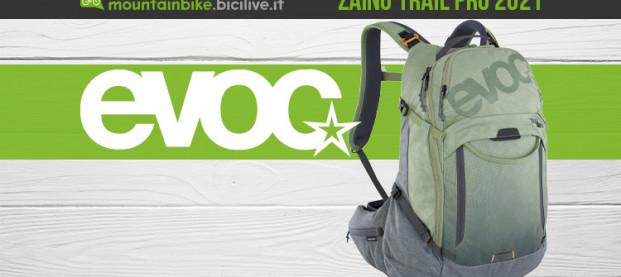 Evoc Trail Pro: 3 formati MTB con protezione integrata