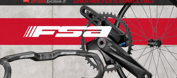 FSA AGX: ruote, manubri e guarniture realizzate appositamente per il gravel