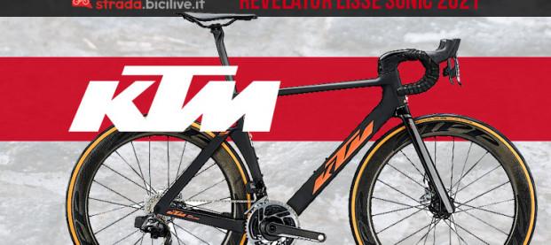 KTM Revelator Lisse Sonic 2021: la tecnologia austriaca in azione al Tour de France