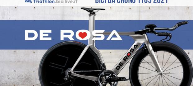 """De Rosa TT-03: una """"macchina da cronometro"""" per il triathlon"""