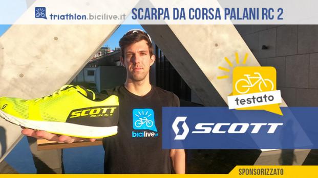 Il test della scarpa running Scott Palani RC 2