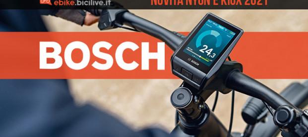 Novità e miglioramenti dei display Bosch Nyon e Kiox