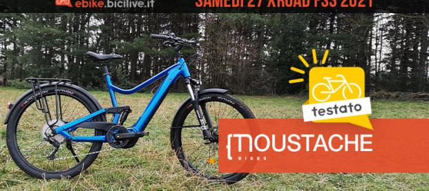 Moustache Samedi 27 Xroad FS3: eTrekking biammortizzata con Bosch CX