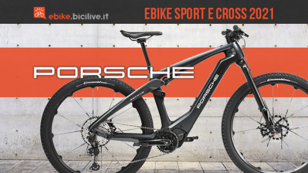 eBike Sport ed eBike Cross: le novità di Porsche 2021