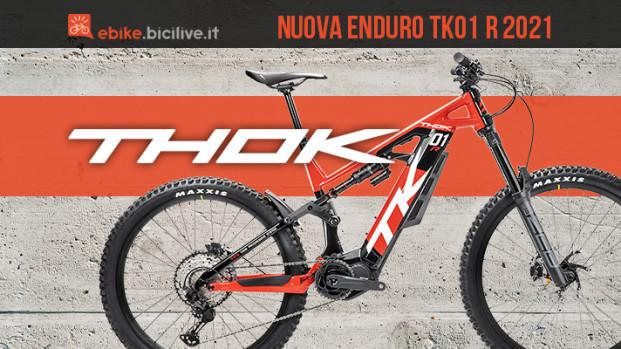 TK01 R 2021, la nuova versione della Enduro di Thok