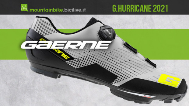 Gaerne G.Hurricane 2021: una scarpa SPD leggera per gli atleti