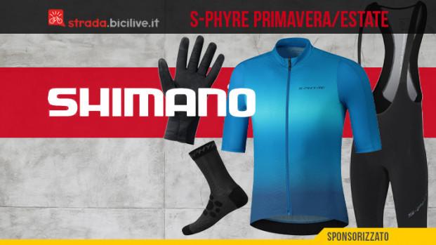 Shimano S-Phyre: la nuova collezione primavera/estate per le vostre pedalate
