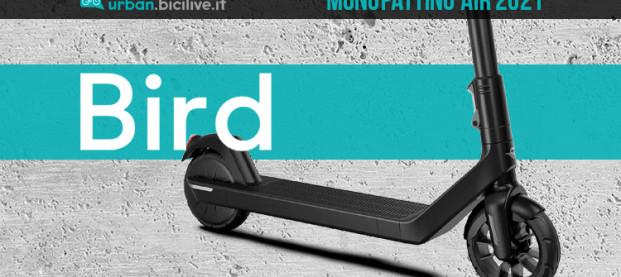 Monopattino elettrico Bird Air: pensato per i pendolari