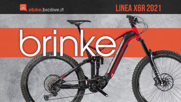 Brinke X6R e X6R Race 2021: due allestimenti italiani per l'enduro