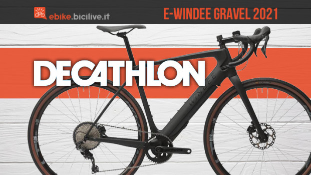 E-Windee, la prima bici eGravel di Decathlon