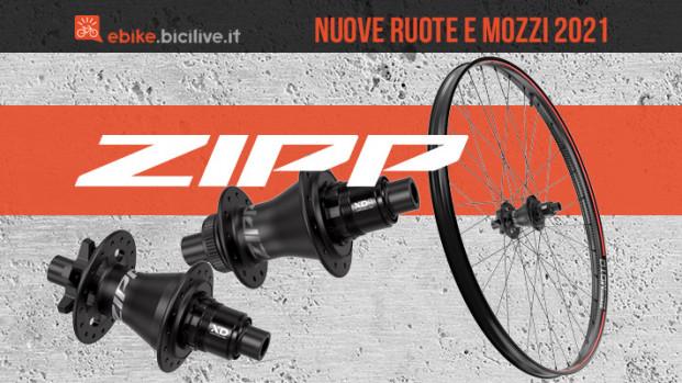 Ruote Zipp 3ZERO Moto e mozzi ZR1 e ZM2: carbonio per l'enduro (anche elettrico)